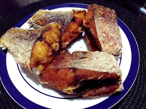 How To Fry Red Snapper In African Style  / Easy Recipe / Obaapa Kitchen