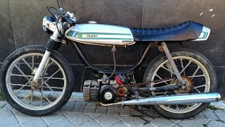 MOPED RACER BUILD (part 1) * Espresso Racer * (Puch Magnum Mkll )