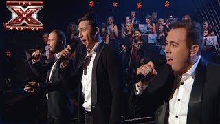 Трио Экстрим - Bohemian Rhapsody - Queen -  Х-фактор 5 - Четвертый прямой эфир - 29.11.2014