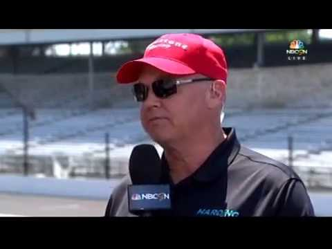 2017 Indy 500 Carb Day - Al Unser, Jr. and Bob Jenkins Celebrate 25 Years of