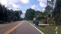 Driving around Duval Rd Jacksonville Fl Florida