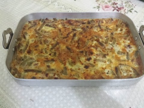 gratin-aux-haricots-verts---green-beans-gratin---غراتان-الفاصولياء-الخضراء