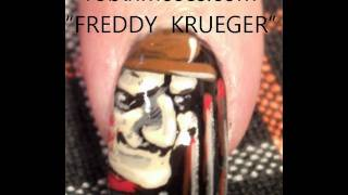 Nail Art Tutorial   Diy Easy Halloween Nails   Freddy Krueger Design