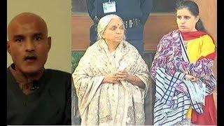 Indian spy Kulbhushan Yadav meets his Family  Indian Media Cry Propaganda