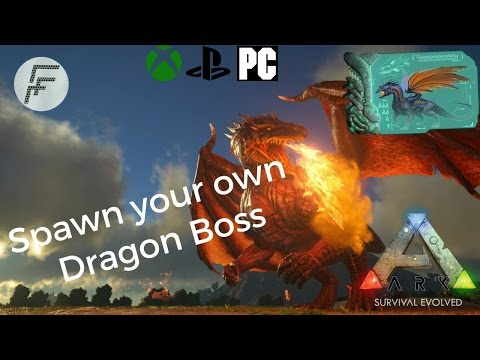 Ark Survival Evolved: How to spawn a Dragon