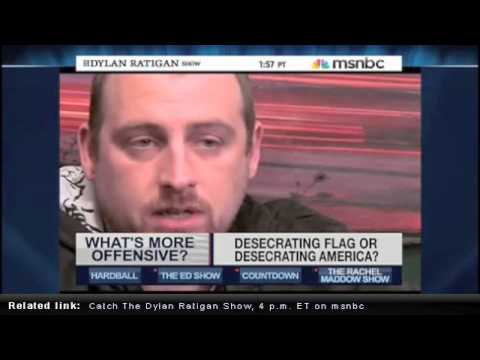 MSNBC's Dylan Ratigan Interviews SABER, LA Graffiti Legend.