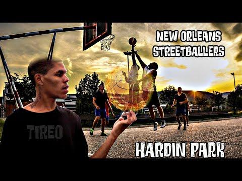 Tireo Street Basketball LEGEND,,,,& New Orleans Street Ballers,,Classic Footage