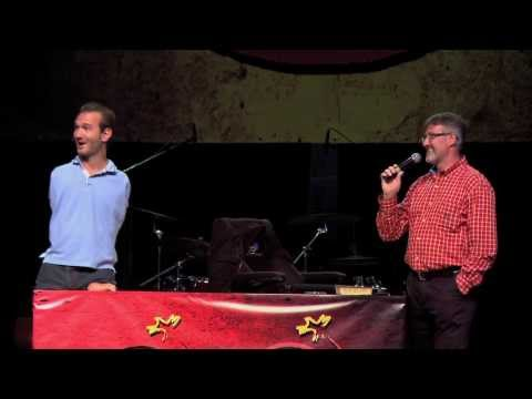 Nick Vujicic World Outreach - Hungary Talk