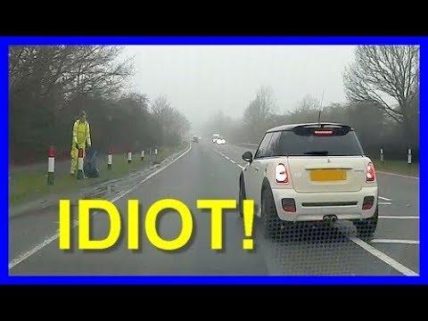 Brake check a learner driver? Bad idea!