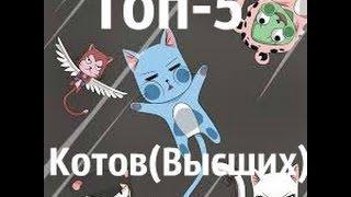 Топ-5 котов(высших) из хвоста феи.(Голосование)