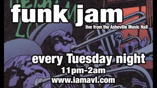 Tuesday Night Funk Jam @ Asheville Music Hall 12-1-2015