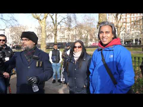 P1 - I Can Heal You! Hashim & Healing Christian | Speakers Corner | Hyde Park