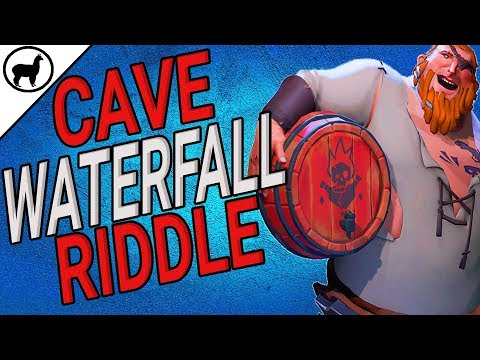 How to Find Mysterious Cave Waterfall Riddle | Devil's Ridge Guide | Sea of Thieves | SoT