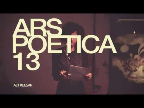 Ars Poetica 13 - Adi Keissar