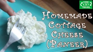 Homemade cottage cheese | Quick & Simple | Benefits of Milk Whey(leftover water) |