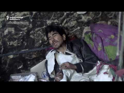 Cold Weather In Kabul Causes Deaths Of Homeless Drug Addicts