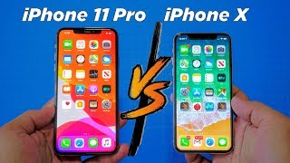 iPhone 11 Pro vs iPhone X: Benchmark and Speed Test!