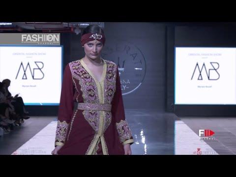 MYRIAM BOUAFI 2017 Kuwait fashion week in partnership with Oriental fashion show - Fashion Channel