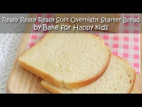 Really Really Really Soft Overnight Starter Breads