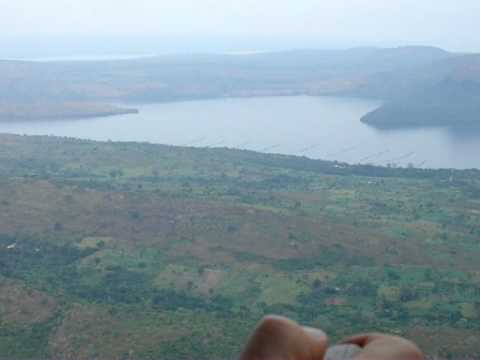 Volta Lake near the dam