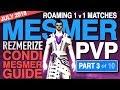GW2 Mesmer PVP (Part 3 of 10) Roaming 1v1 Matches