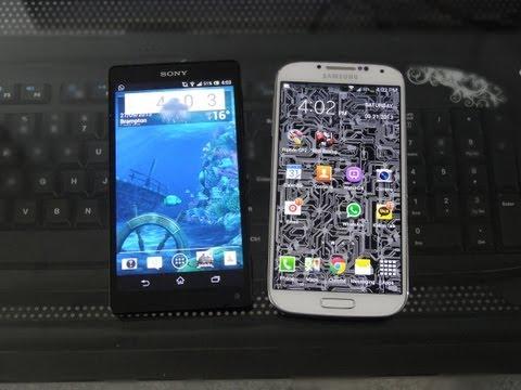 Samsung Galaxy S4 vs Sony Xperia ZL