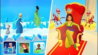 Princess Run 3D 👸🧜♀️🧚 All Levels Gameplay Android,ios PR3D1GP18 screenshot 2