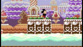 Castle of Illusion Starring Mickey Mouse - Speed-Run 1 - User video