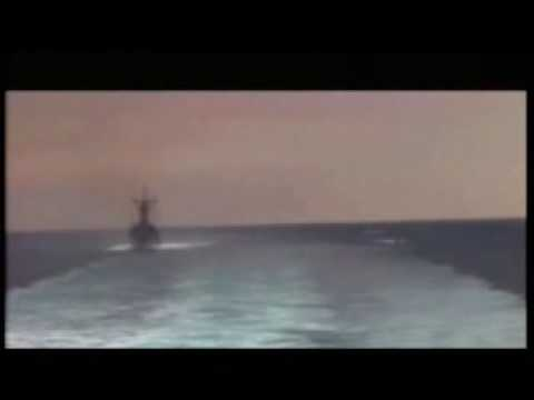 US footage of confrontation in the Gulf - 09 Jan 08