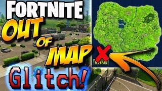 Fortnite GLITCH! Fortnite Battle Royale Out of Map Glitch - Multiplayer - (PLEASE FIX)