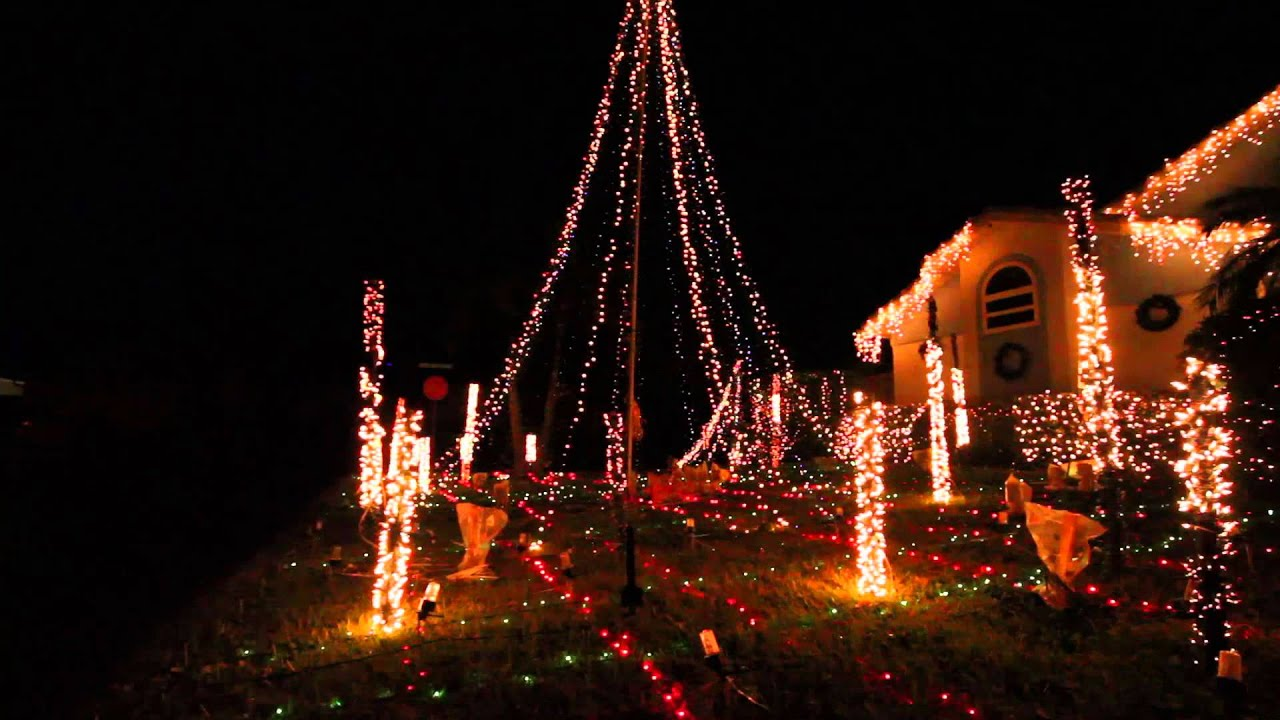 Animated christmas lights - Light Up Florida 2012 Animated Christmas Lights Display 1080p Youtube