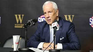 UNC-Wofford: Roy Williams Postgame