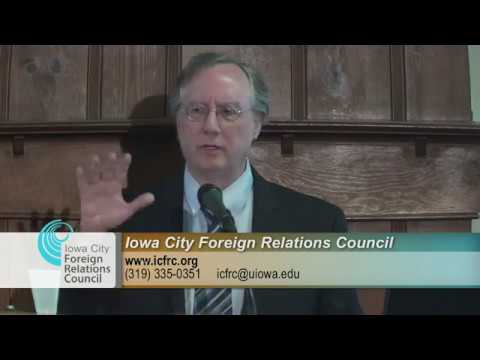 Iowa City Foreign Relations Council Presents: The New Arabs:  U.S. Foreign Policy in the Middle East