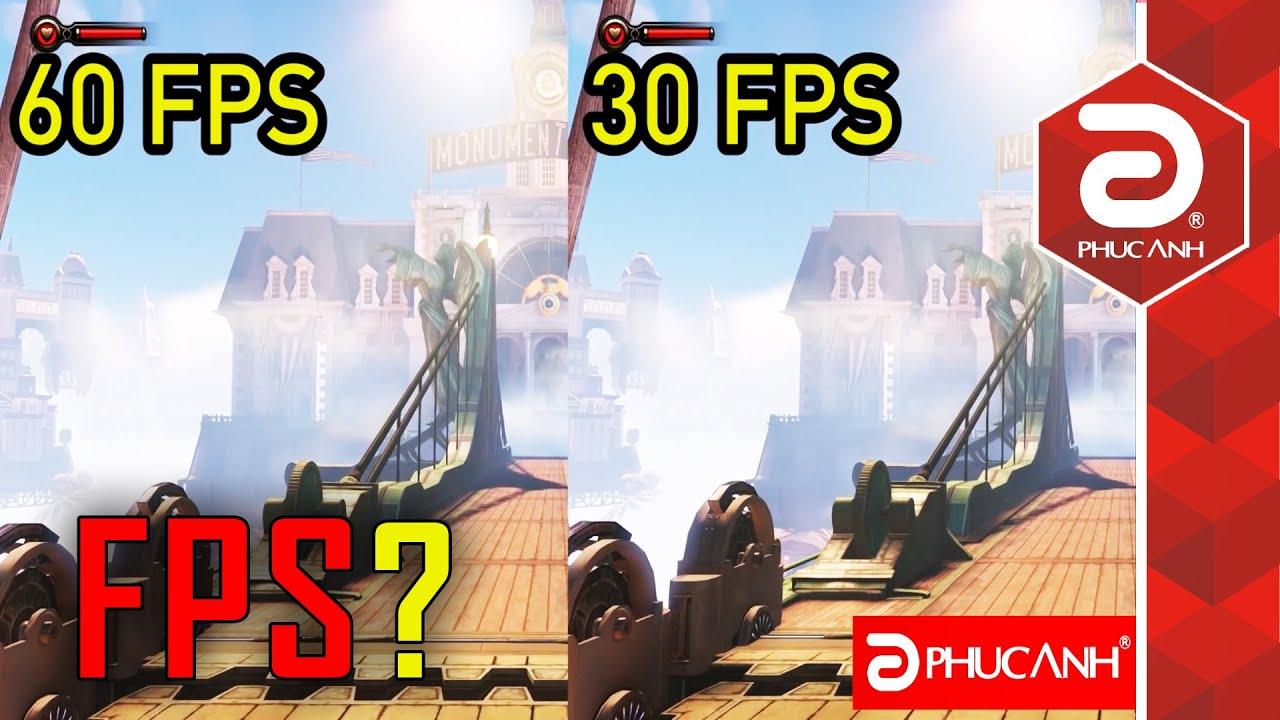 Chơi game với 60 FPS và 30 FPS có gì khác nhau?