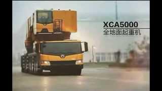 Мощный автокран XCMG XCA5000 - г/п 1600 тонн(Китайский автокран XCMG XCA5000., 2015-07-20T11:44:52.000Z)