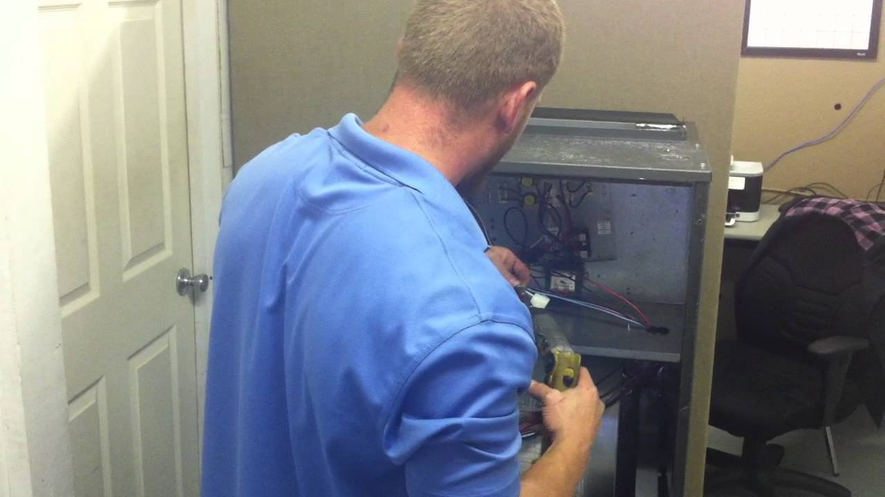 Installing A Heat Strip Into An Air Handler