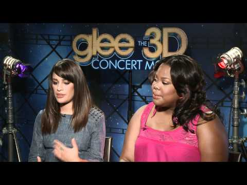 Celebs.com Original Interview: Glee's Lea Michele & Amber Riley