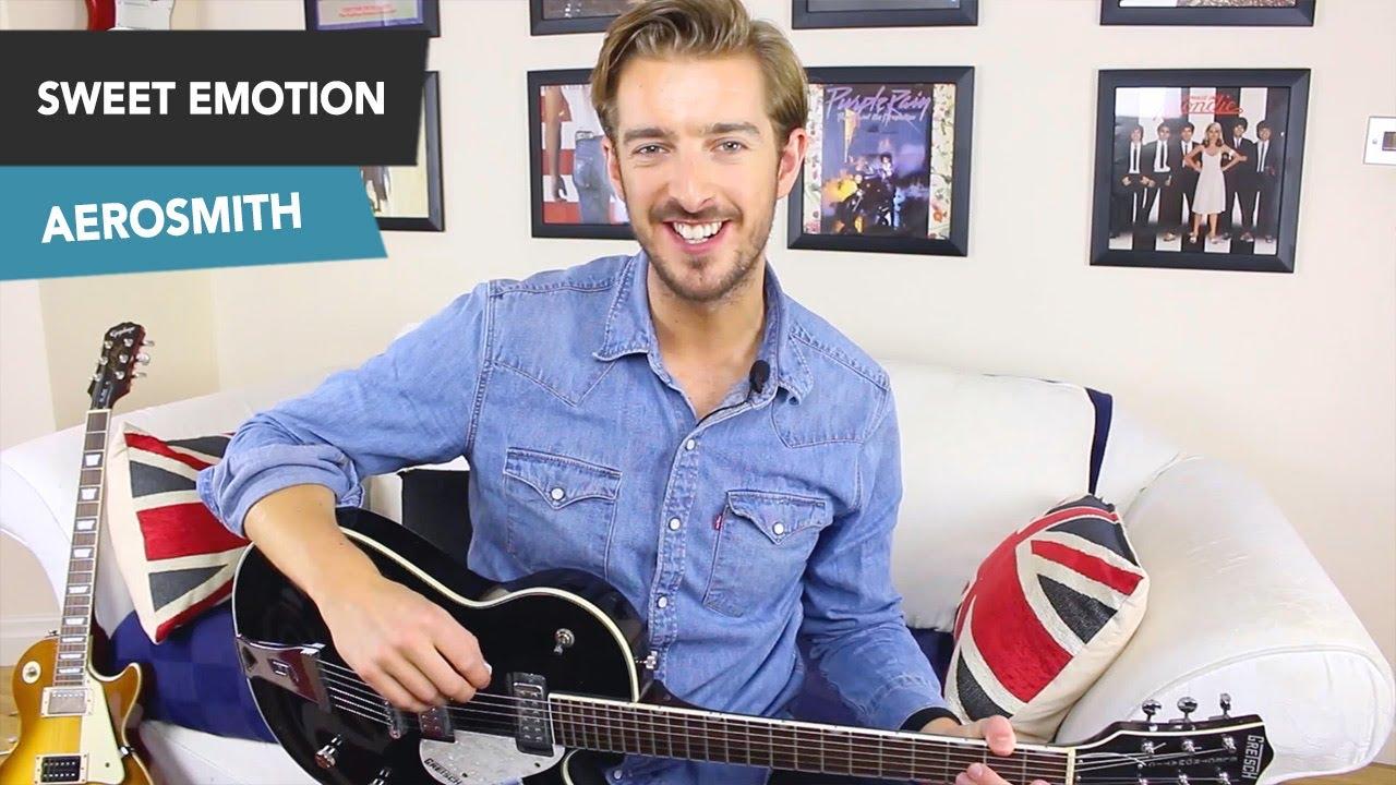 Sweet Emotion Guitar Tutorial Aerosmith Rock Guitar Lesson All