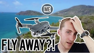 Mavic Pro almost Lost at Sea ! | Strong Wind Fly Away WARNING