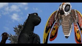 Godzilla Fan Film Parody Thing Preview #2