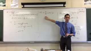 Exam Problem: Simple Harmonic Motion with Auxiliary Angle