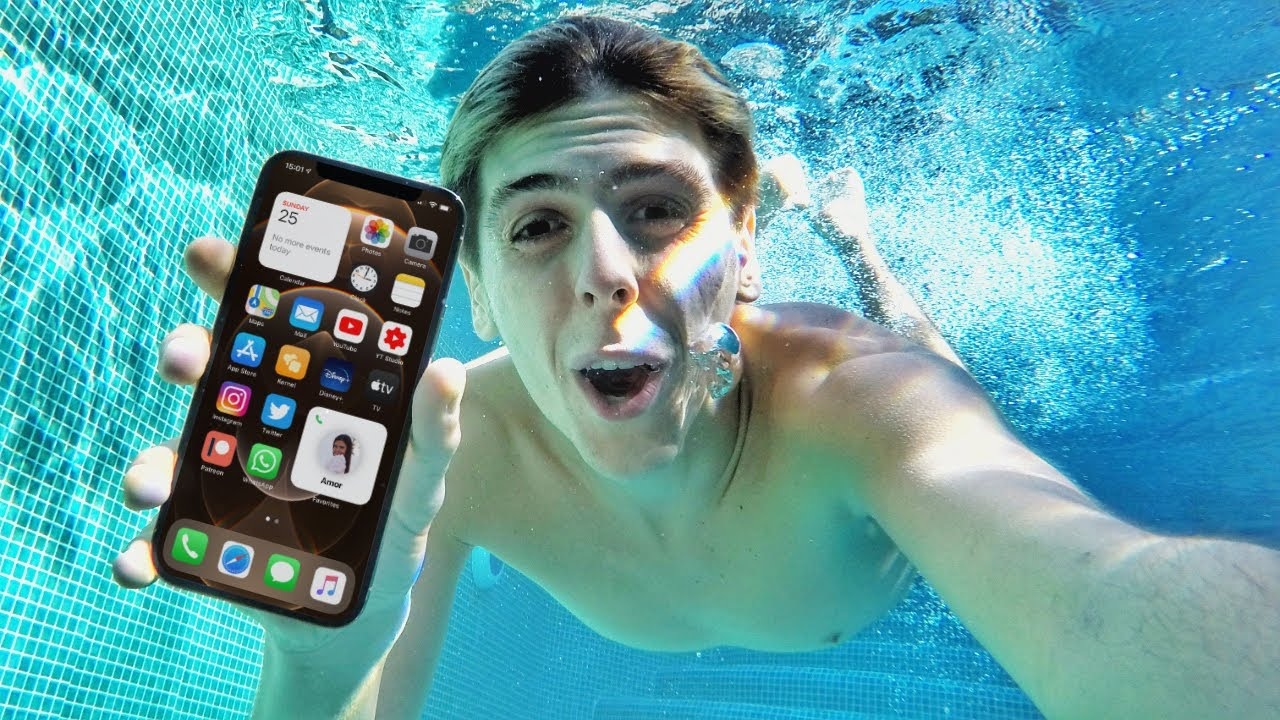 iPhone 12 Water Test - Will It Survive Underwater? - YouTube