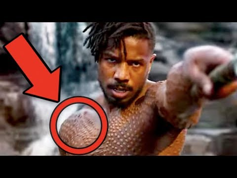 Black Panther BREAKDOWN - Easter Eggs & References You Misse