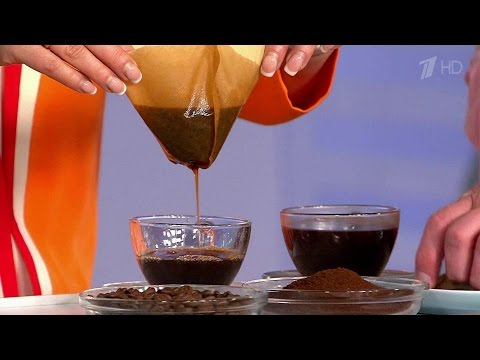 Как правильно готовить кофе.  Жить здорово!  11.04.2016
