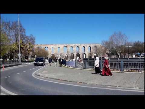 Çarşamba. Valens Aqueduct. Fatih Anıt Parkı. (Fatih) 恰爾尚巴. 瓦倫斯水道橋.