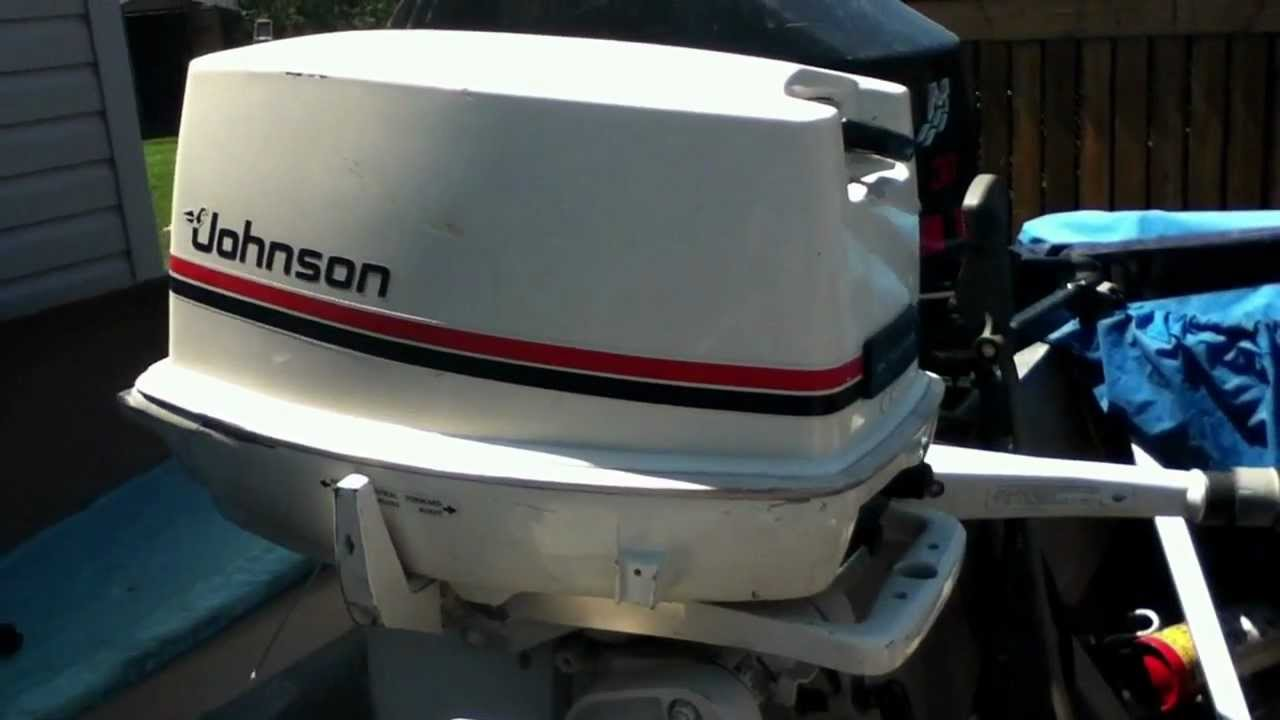 Johnson outboard motor 25hp 1983 doovi for Johnson marine italia