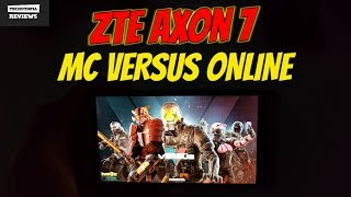 Modern Combat Versus Gameplay ZTE Axon 7 gaming test/Snapdragon 820/High end games