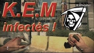 Call Of Duty Ghosts - Gameplay K.E.M Mode infectés !