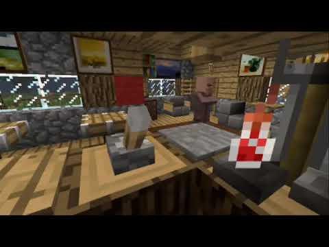 Minecraft Furniture NPC Village Makeover Part 1