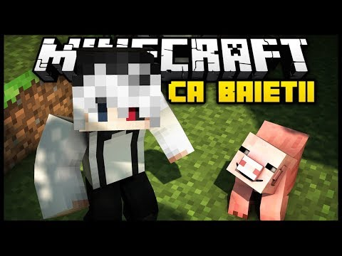 🔴 Minecraft ca BAIETII - Live #18